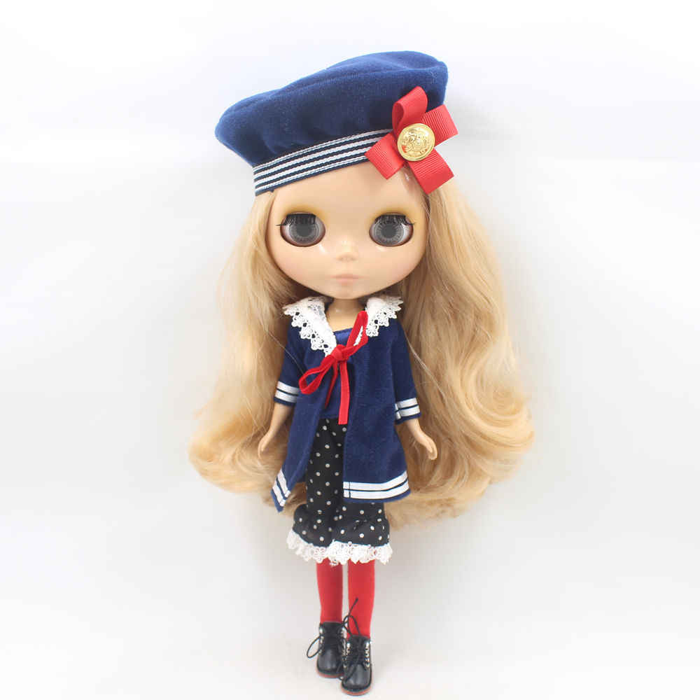 Blyth doll Sailor suit,including the hat and socks,1/6 30cm