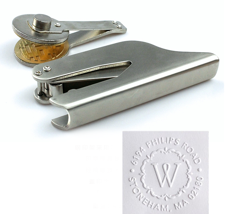 Hot Customize Embossing Stamp with Your Logo Personalized Embossing Seal for Letter DIY Craft Wedding Envelope Gaufrage StampHot Customize Embossing Stamp with Your Logo Personalized Embossing Seal for Letter DIY Craft Wedding Envelope Gaufrage Stamp