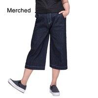 Merched Pockets Jeans Feminino Loose Casual High Waist Denim Botton Plus Size 5xl 6xl 7xl Ripped