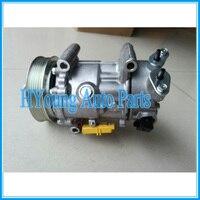 Fabrika doğrudan satış 6C12 A/C kompresör için PEUGEOT 207/307 9670318880 9659875780 9678656080 9651910980 9671216280 6453WK 6453WL