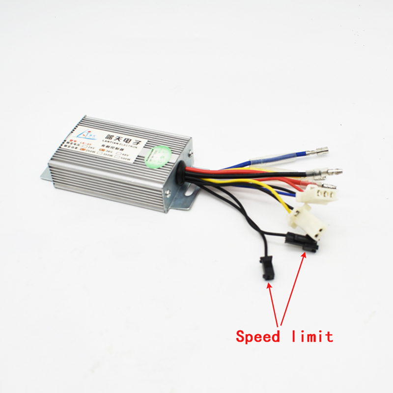 Electric Brushed Motor DC Controller 24V 36V 250W Speed Controller with PAS Sensor Port For Electric Bicycle Scooter Accessories