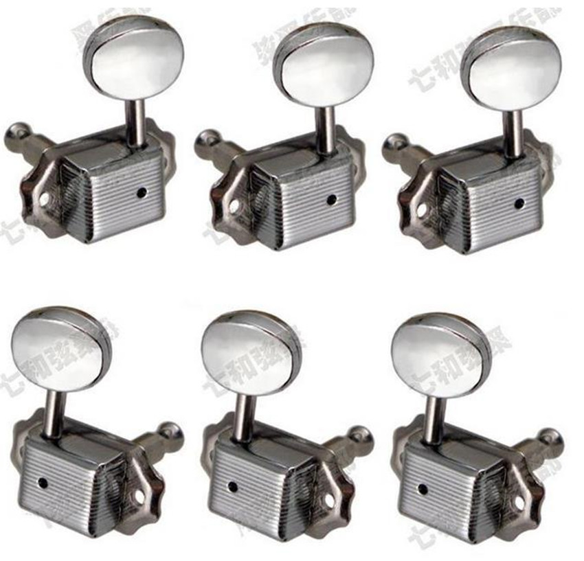 QHX 3R3L tuning pegs akustik butang gitar akustik Tuning Pegs Keys vintage Tuner Machine Heads Guitar accessories parts