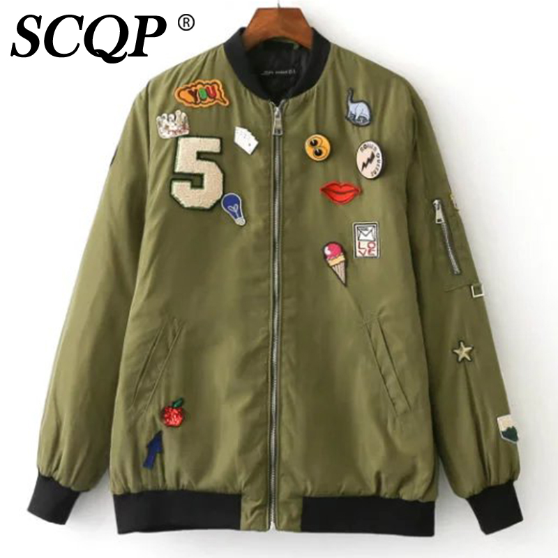 Womens green jacket with black sleeves