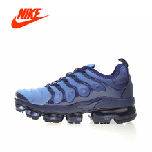 Original New Arrival Authentic Nike Air Vapormax Plus TM Men's Breathable Running Shoes Sport Outdoor Sneakers 924453-401
