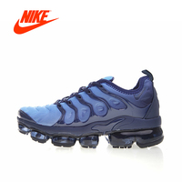Original New Arrival Authentic Nike Air Vapormax Plus TM Men's Breathable Running Shoes Sport Outdoor Sneakers 924453 401
