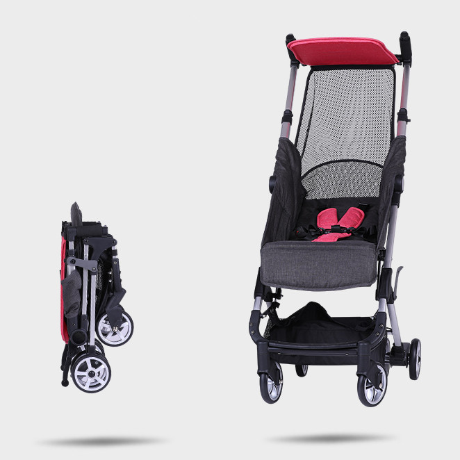 baby yoya Portable Stroller Pram Pockit Compact Foldable 300x180x350mm 175 degrees lay for newborn to 4years