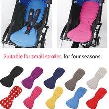 Купить с кэшбэком Comfortable baby stroller Seat Cushion for yoyo yoya Double Sided Pram Pad Car seat Liner Stroller Accessoried