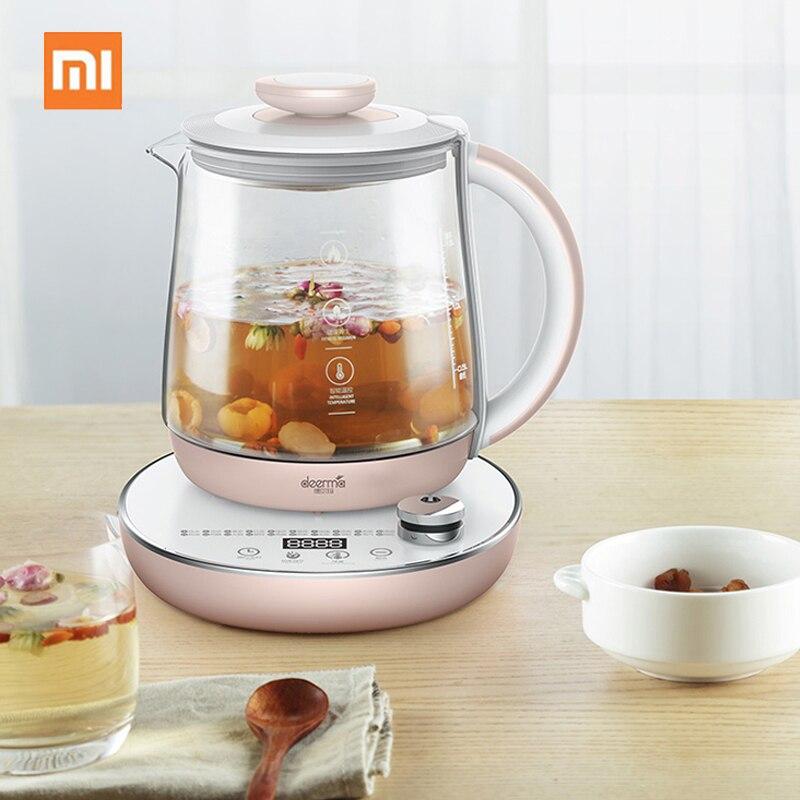 Xiaomi 1.5L santé conservation Pot multifonction électrique cuisson thé bouilloire rendez-vous synchronisation isolation bouillie avec crépine