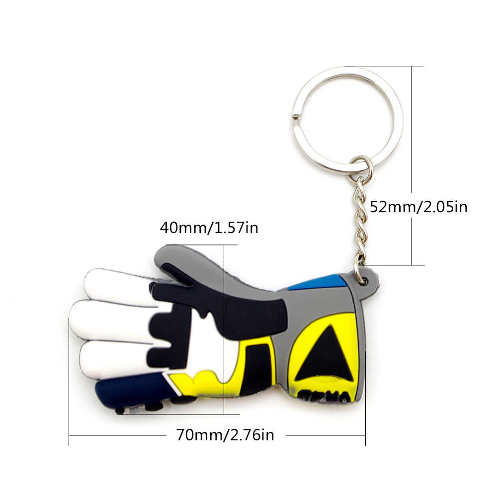 素敵なクールなモトバイクグローブ gants キーホルダーキーチェーンミニキーリングアプリリア SHIVER 750 アプリリアシヴァーアプリリア RSV4