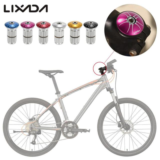 Lixada 1 Stuck Bike Gabel Gabelschaft Headset Top Cap Kompression