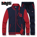 5XL 6XL 7XL 8XL New Mens Casual Hooded Sweatshirts Male Fashion Active Suit Men Brand Sportswear Man Leisure Tracksuit SetsYA422