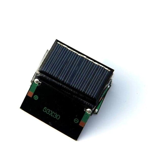 Vendita Calda 50 Pz/lotto 0.15 W 5 V Mini Pannelli Solari Piccola Potenza  3.6