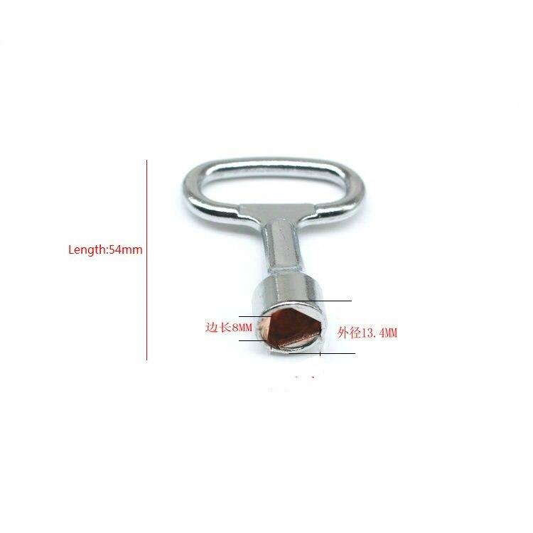 Us 99 Gratis Verzending Driehoek Sleutel Buiten Diameter 134mm Driehoek Side Longth 8mm Voor Elektrische Kast Lock Key In Sloten Van