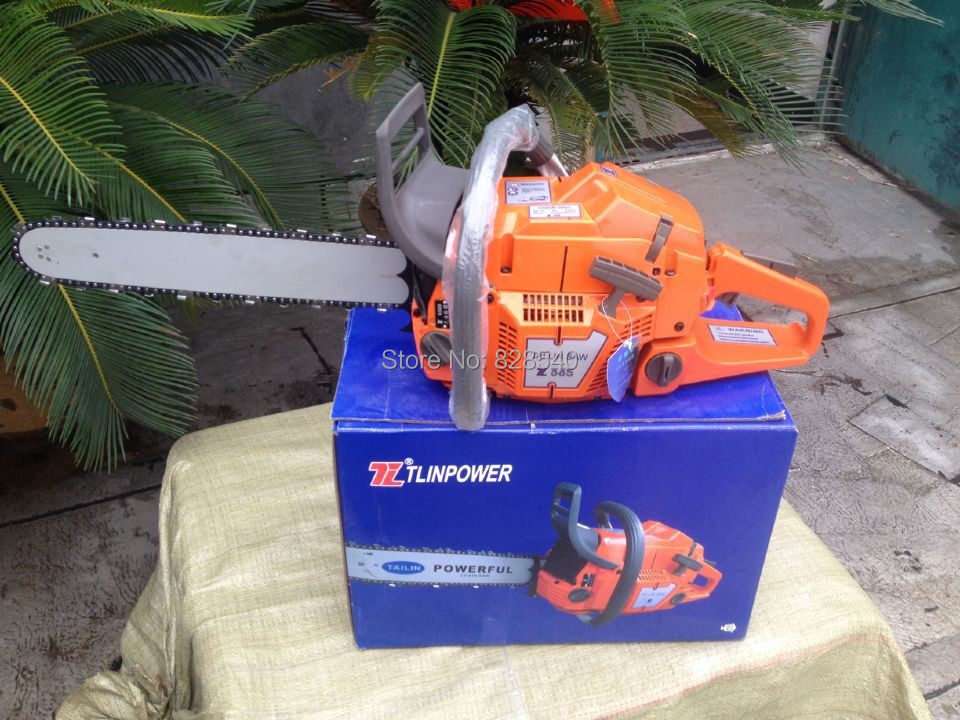 Professional Petrol Chain Saw HUS365 Gasoline CHAINSAW ,65CC 3.4kw CHAIN SAW, Heavy Duty Chainsaw With 20