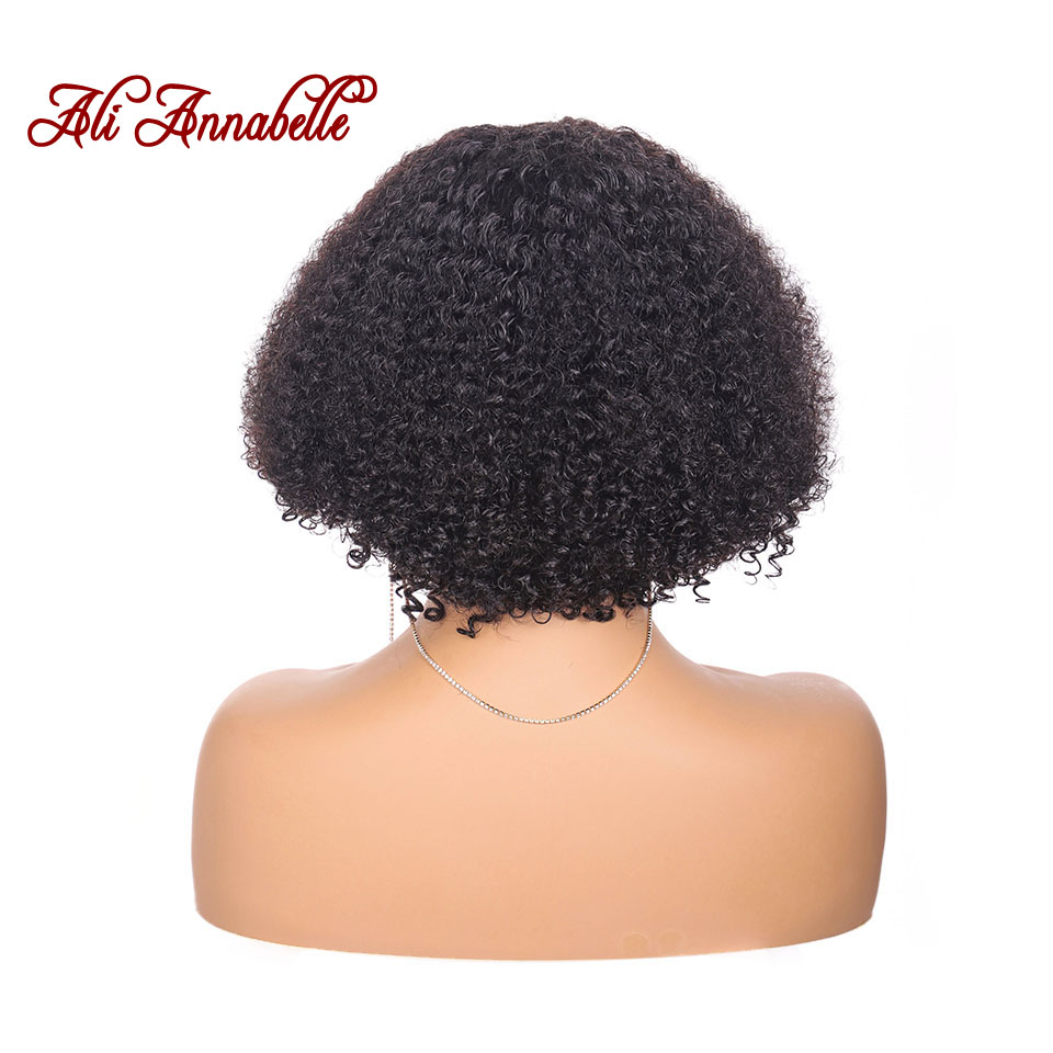 Image 4 - Brazilian Short Curly Lace Front Human Hair Wigs Pre Plucked With Baby Hair 13*5 Bob Lace Front Wigs For Black Women Remy Hair-in Human Hair Lace Wigs from Hair Extensions & Wigs
