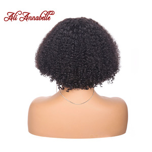Image 3 - CURLY สั้น BOB วิกผมบราซิล CURLY Hair วิกผมสั้นบ๊อบลูกไม้ด้านหน้าด้านหน้าวิกผม Pre Plucked Kinky CURLY Lace ด้านหน้าวิกผมผมมนุษย์