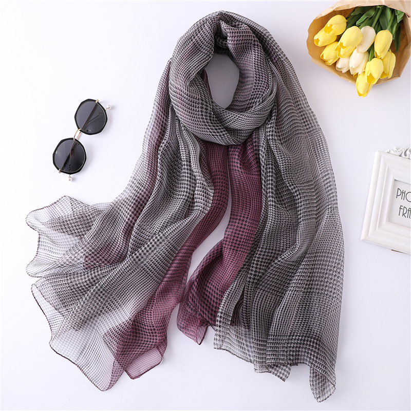 Women Ladies Summer Scarf Long New Multi Print Shawl Warp Stole Big Scarves