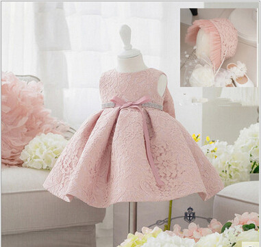 newborn baby girls dress 1 year girl baby birthday dress lace toddler baptism baby dress with hat baby girl christening gownsnewborn baby girls dress 1 year girl baby birthday dress lace toddler baptism baby dress with hat baby girl christening gowns