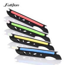 Fulljion 1pcs Winding Board For Fishing Strains Coiling Plate Chunk Alarm Lip Grip Carp Holder Rod Sort out Fishing Field Instruments