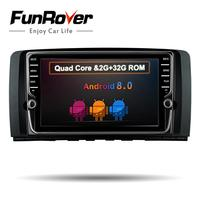 Funrover ips 8 ''8,0 2 din стерео Авто Радио DVD gps Wi Fi для Mercedes Benz R Class W251 r280 R300 R320 R350 R500 R63
