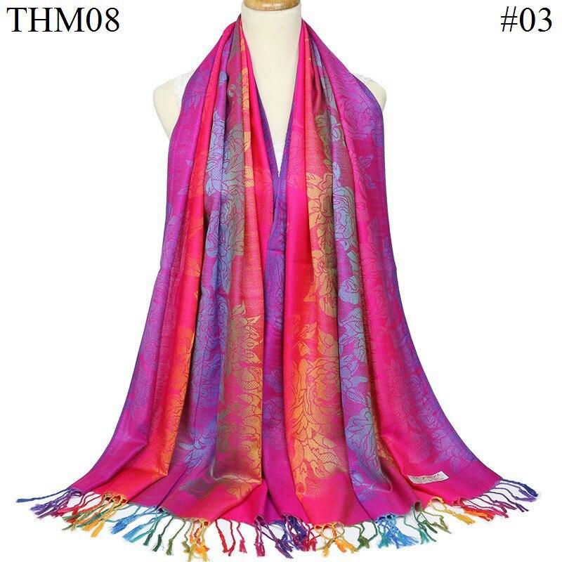 Neelamvar Double Sided cotton Jacquard   Scarf     Wraps   women national styles shawl winter Echarpe   scarves   lady pashmina Cachecol