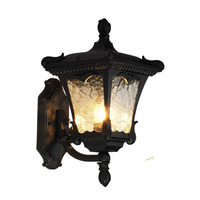 Luzes da lâmpada de parede ao ar livre à prova dwaterproof água jardim villa varanda casa parede iluminações decorativas