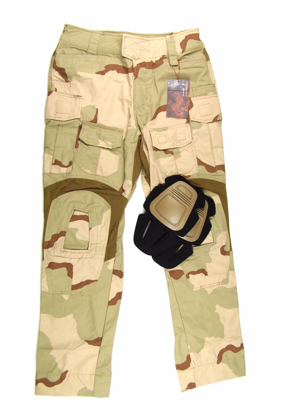 STINGER GEAR DCU G3 Combat Pants NYCO Ripstop Desert Camouflage Trousers+Free shipping(STG050999) g3 combat pants wolf grey 3d urban tactical combat pants teflon coating free shipping stg050796