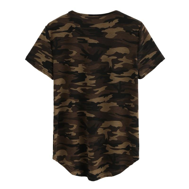 Nieuwe Dames Kleding T-shirts Zomer Leger Korte mouw Tops Camouflage - Dameskleding - Foto 4