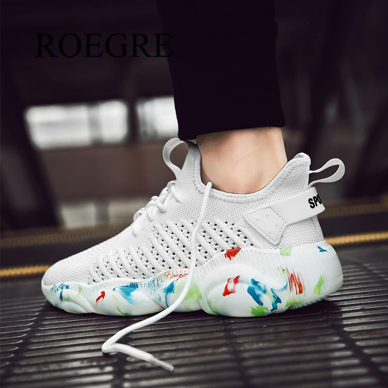 Plus Size 35-47 Fashion Krasovki Men's Casual Shoes Male Shoes Sneakers Lightweight Breathable Shoes Tenis Masculino 2019 New 3