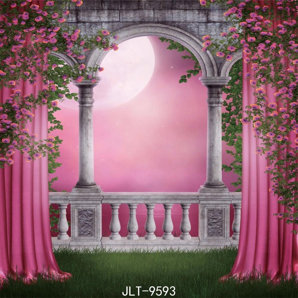 Home Garden Design Ideas Hd Desktop Wallpaper Instagram: Night Party Backdrops Flower Background Cloth Photo