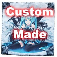 Oct. New Home Textile Custom Made Anime / Manga DIY Single Side/Double Side Polyester/Micro-suede/2WT 2Way Mini Pillow 23x23cm