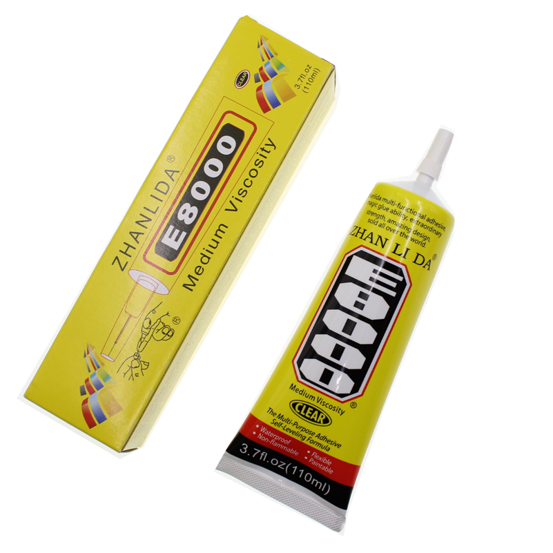 Waterproof 110ML E8000 Glue Liquid Glass Touch Screen Adhesive Fabric Textile Strong Super Jewelry Epoxy Phone Bond E-8000 b7000Waterproof 110ML E8000 Glue Liquid Glass Touch Screen Adhesive Fabric Textile Strong Super Jewelry Epoxy Phone Bond E-8000 b7000