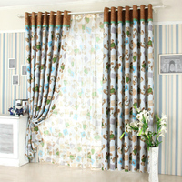 Curtain Shade The Winnie The Pooh Cartoon Children All Boys And Girls Room Window Curtain Finished