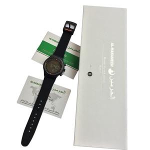 Image 5 - 1 sztuk/partia muzułmański automatyczny Fajr zegarek z budzikiem HA 6506