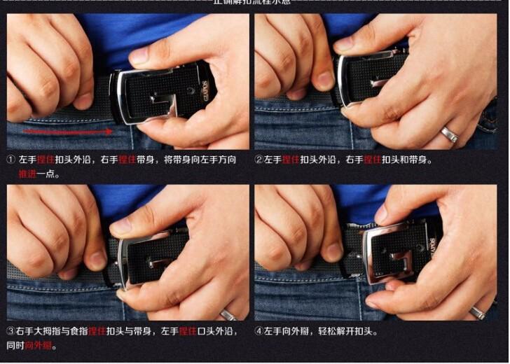 мужской ремень бренд мужской кожаный ремень мода пояса