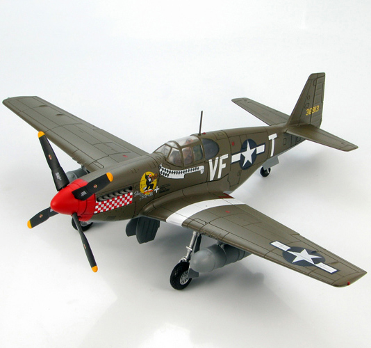 Scale Model 1/48 HA8501 WWII US P51B fighter model Shangri-La Colonel Tangjintaier Favor ...