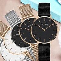 Luxury Brand Quartz Watch Women Fashion Gold Steel Bracelet Watch Dw Watch Style Rhinestone Ladies Dress