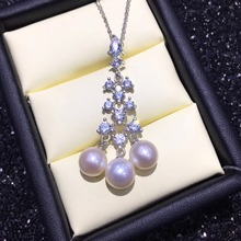 Hot Pearl Party Promotion Pearl Pendant Mountings, Pendant Findings, Pendant Settings Jewelry Parts Fittings Women Accessories