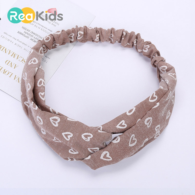 Girls Baby Kids Cross Knot Hairband Headband Elastic Headwear Hair Accessories