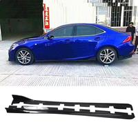 Carbon Fiber Side Skirts Protector Body Kits for LEXUS IS300 IS350 IS F Sport Sedan 4 Door 2013 2019 Car Styling