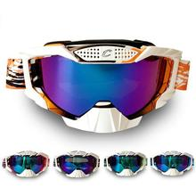Hot Sale Gafas Motocross Occhiali Motocross Motorcycle Glasses Cross-country Skiing Snowboard Goggles Colorful Glass