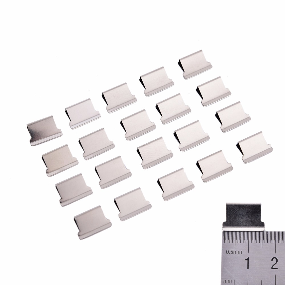 Office Binding Supplies 50pcs Metal Paper Stationery School Office Paper Document Binder Clips Office Learning Supplies