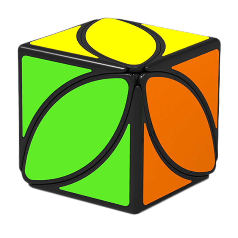 New Arrival QiYi Ivy Cube The First Twist Cubes of Leaf Line Puzzle Magic Cube Educational Toys cubo magico in Magic Cubes from Toys Hobbies