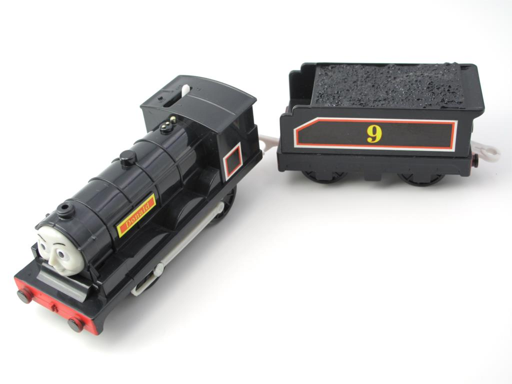 Electric Thomas Train T042E DONALD Thomas And Friends Trackmaster Magnetic Tomas Truck Locomotive Engine Railway Toys for Boys