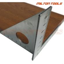 45 градусов из нержавеющей стали треугольник квадратная линейка Rafter скорость квадратная т и три угла квадратная MulitScribe инструменты