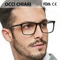 OCCI CHIARI Männer Brille Rahmen Optische 2019 Männer Klare Linse Rezept Anti blau licht Acetat Brillen Brillen W COLOPI-in Brillenrahmen aus Kleidungaccessoires bei