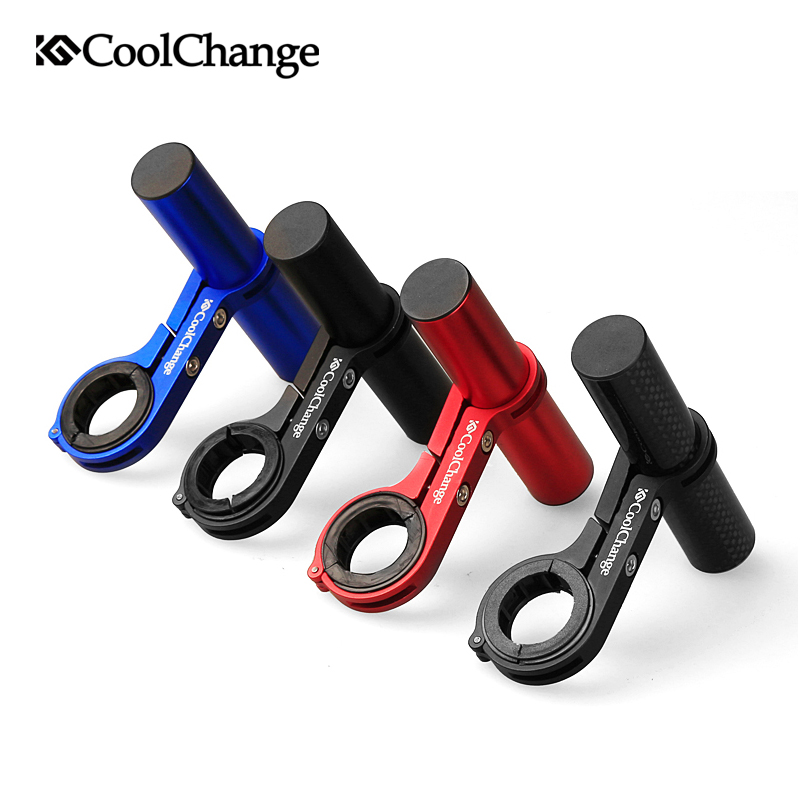 CoolChange mountain bike cycling lighthouse expansion rack mounts Bicycle T-frame handlebar adapter