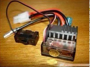 #03018 320A Brushed ESC (with 540 Motor ) HSP 1/10th EP Car Parts