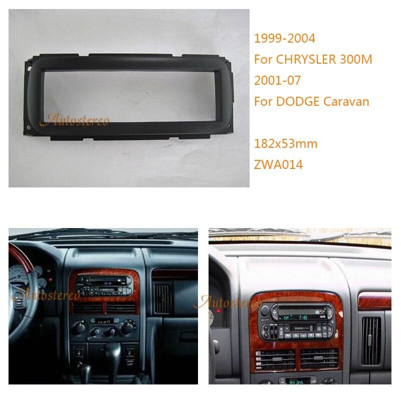 car radio fascia panel for chrysler 300m dodge jeep. Black Bedroom Furniture Sets. Home Design Ideas