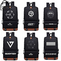 [NEWTALL] Korea KPOP Style BTS GOT7 Seventeen Bigbang EXO Bangtan Boys 17 inches School Bag Travel Shoulder Backpack 16102910